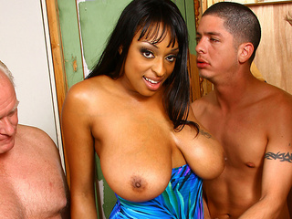 Lots of white cocks for Carmen Hayes