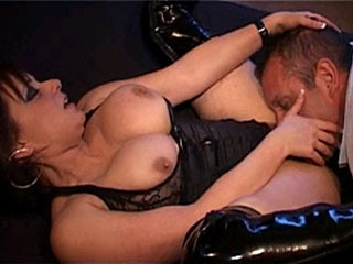 See Sexy Mistress Dominating Her Male Slave