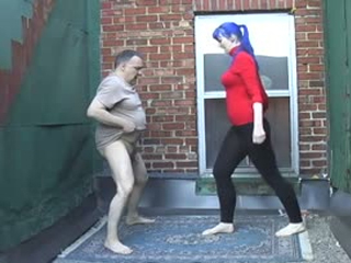 Ballbusting On The Roof