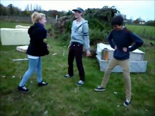 Lastman Standing Ball Shots (With Girl Kicking!)