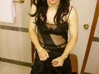 Black Illusion Gown
