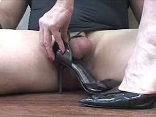 Crushing Balls Inside My Leather Pumps