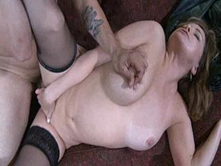 Sexy Mom fucks a friend of her son's