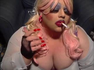 Sissy Dragqueen Makeup Smoke