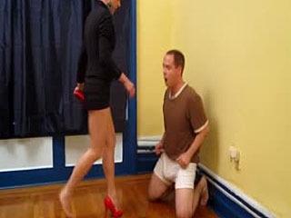 Mistress Trish Finally Hurts Andys Balls