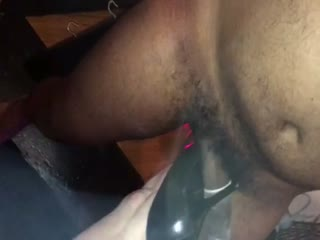 Ballbusting With Pointy Black Heels - Part 2