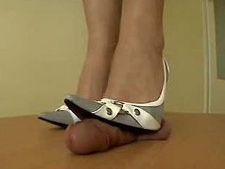Arletta's White Steel Stilettos