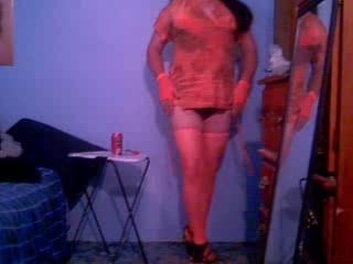 sissy in orange