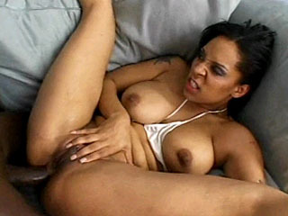 Black hottie with nice tits and ass gets fucked