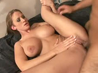 Horny MILF with huge tits craving a cock