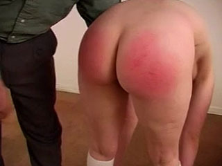 Schoolgirl Kylie takes a beating for bad behavior