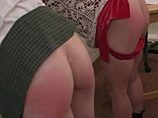 Teacher and student gets spanked by the principle