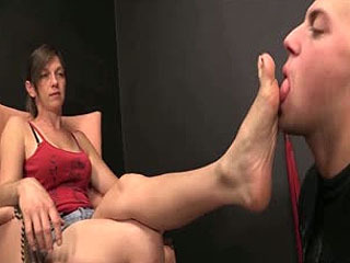 Ballbusting, Femdom And Foot Worship
