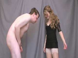 Mistress Jessica Lovely Ball Slapping