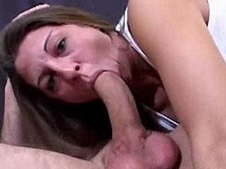 Shanny gets a cock deep in her throat