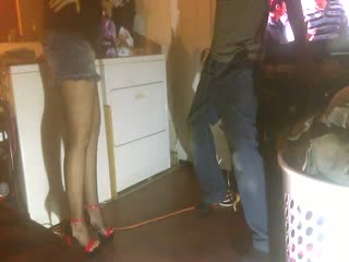 Gf High Heels Kicking