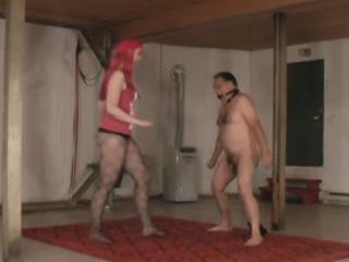 Pantyhose Ball Kicking