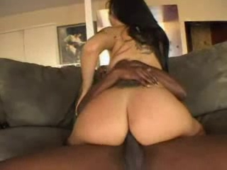 booty babe gets a black rod