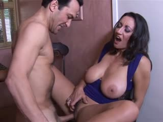 A horny cock for the busty cougar