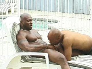 Ebony guy fucked hard in the ass