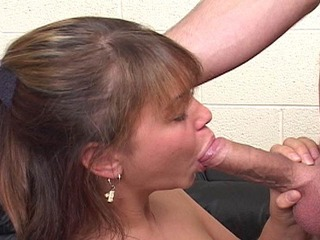 Hot Frenchie Roxanne throat fucked