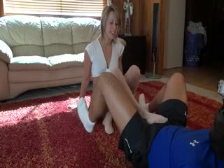Schoolgirl Crystal's Ballbusting Experience - Part 4: Stomping, Trampling, And Gaspedalling YOUR Sack