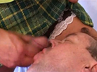 See Tranny Mistress Pleasure Herself With Male Slave