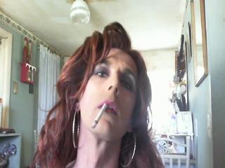 Miss Foxx smoking for u