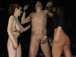 BallBustingChicks - Empress Cruel And Friend - Painful Milking