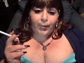 BBW Sissy Diane Smoke Fetish Queen