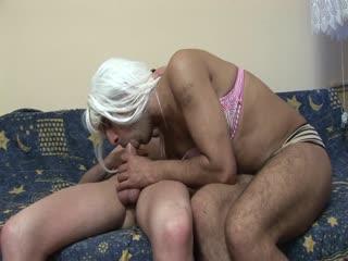 Big dick fucks a naughty crossdresser