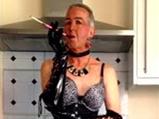 Sissy Slut Steven Kitchen Smoke