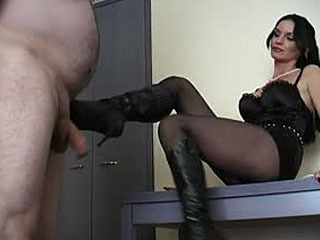 BallBustingChicks - Carmen Rivera - Disciplining The Salesmen 3