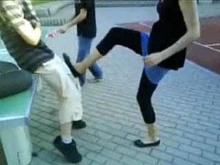 Short but Hard Kick