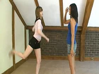 Ballbusting Universe - Sasha And Introducing Faye - Imagine This Is You!!