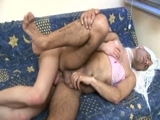 Horny crossdresser needs some twink dick