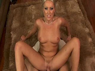 Hot blonde Diana Doll gets her wet pussy pounded