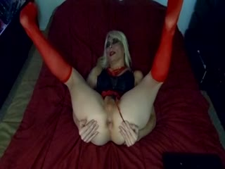 Sexy Tasha Dirty Talk Sexy Blond Hot Crossdresser