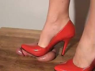 shoejob - red heels