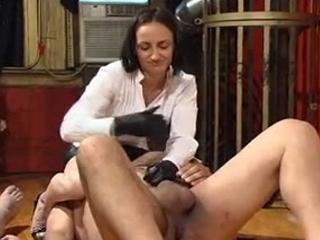 Two Girls Facesitting And Ballslapping