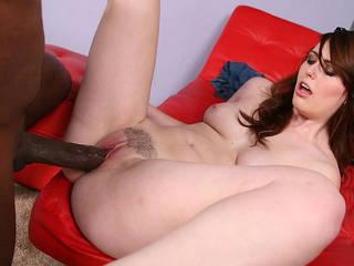 Enormus black cock fucks sexy Emma Ash