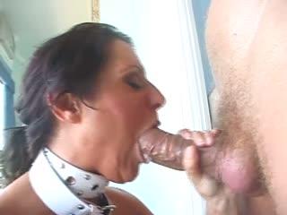 Fat cock slamming a nasty slut