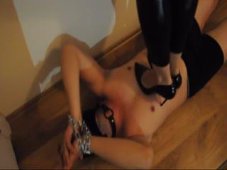 Mistress Rana Sert Trample & Ballbusting