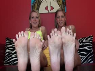 You are just drooling over our petite feet