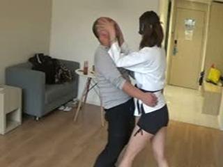 Taekwondo Beauty Demonstration Practical Self-Defense