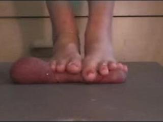 Barefoot Cock Crush