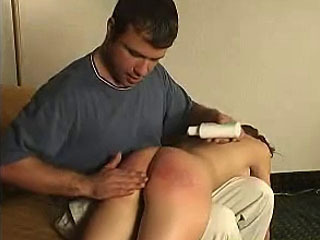 Brandy gets a spanking