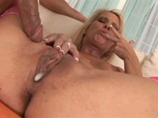 Blonde boned hard and creampied