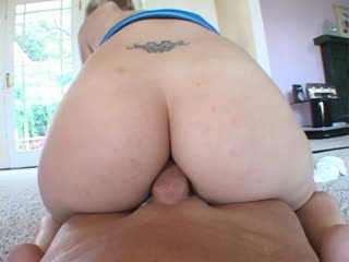 Annette Schwarz rides a big dick with her tight asshole