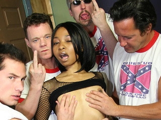 Rachel Day ceovered in jizz
